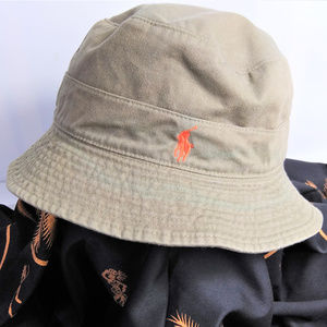 Polo Ralph Lauren Mens Bucket Hat Size Large